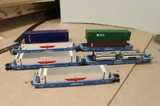 APLX 5 Unit Container Set Athearn with Containers in HO Scale