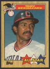 1987 TOPPS TIFFANY #607 TONY BERNAZARD ALL-STAR