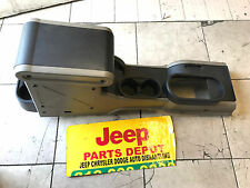 2008 Jeep WRANGLER 2/WD center console l gray color  OEM DASH mopar  JK bazel