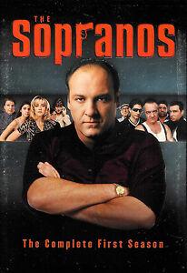 The Sopranos: The Complete First Season - James Gandolfini - DVD WS 4-Disc Set