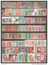 CHUX6- SVIZZERA - Lotto francobolli usati - (o)