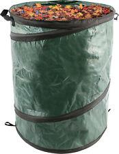 More details for green heavy duty pop-up reusable garden disposal waste bag carrier - large 73l