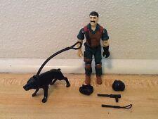 Vintage 1984 GI Joe Mutt Junkyard Dog K9 100% complete