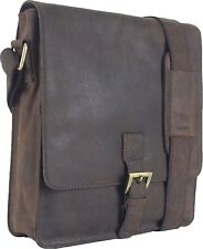 UNICORN Real Leather iPad, Kindle, Tablets & Accessories Messenger Bag Brown #2F