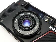 + STUNNING SET + NIKON L35 AF 35mm Compact Point n Shoot Film Camera 1000 ISO