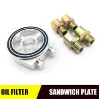 M20*1.5 Oil Filter Cooler Sandwich Thread Plate Adapter 3/4-16 UNF Oil Cooler