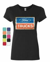 Legendary Ford Muscle Built Tough Truck Car Strong FREE SHIPPING Girls T-shirt