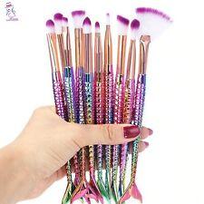 10pcs/set New Makeup Brushes Foundation Eyeshadow Powder Pro Brush cosmetic tool