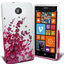 Stylish Floral Silicone/Gel Case Cover Skin For Nokia Lumia 625