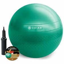 NEW Total Body Workout Fitness Balance Ball Kit 65cm FREE SHIPPING