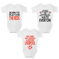 Funny Liverpool FC Football Baby Grow - Liverpool Premier League Babies Clothing
