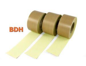 1 m PTFE Klebeband Folie Teflon® Tape Schweissband 0.15 Glasgewebe ab 3,25€/m
