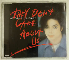 Michael Jackson They Don't Care About Us Cd-Single UK 1996