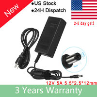 For HP 2011X 2211X 2311X LED LCD Monitor Charger AC Adapter Power Supply Cord US