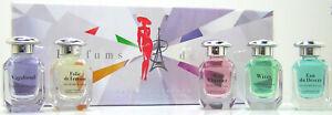 Charrier Parfums de Luxe EDP / Eau de Parfum Miniatur Set 5 x 12 ml Flakons