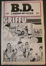 BD - L'HEBDO DE LA BD N°15 - TBE - Editions du Square - 16.01.1978