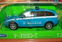 ALFA ROMEO - 159 SPORTWAGON - POLIZIA - 2006 - WELLY - SCALA 1/24