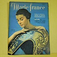 Marie France Magazine N° 215 - 10 Janvier 1949 - Ancien Magazine Français