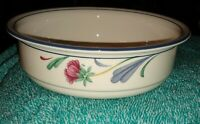 """NEW Lenox """"Poppies on Blue"""" 6 1/4"""" Soup/Cereal Bowl Chinastone  L@@k! Discount"""