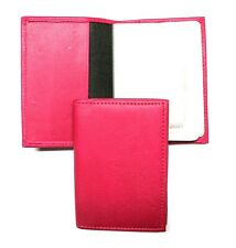 Credit Card Holder Organizer  - Pink Leather - New