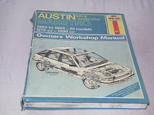 Austin, M.G.and Vanden Plas Maestro Owner's Workshop Manual (Haynes)