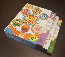 Yo Gabba Gabba: Party in a Box (DVD, 2011, 3-Disc Set) tv show kids programming