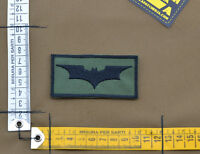 "Ricamata / Embroidered Patch ""Batman"" OD with VELCRO® brand hook"
