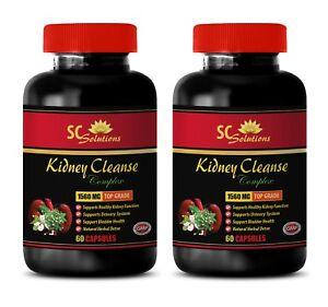 Anti-aging - KIDNEY CLEANSE COMPLEX - cinnamon capsules - 2 Bottles
