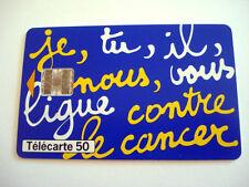 PHONECARD TELECARTE SANTE LIGUE CONTRE LE CANCER