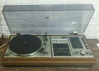 SHARP SG-309H vintage retro Record player Stereo Music System. TAPE not working