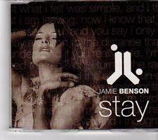 (FM31) Jamie Benson, Stay - 2002 CD