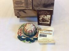 Longaberger Nwt's Collector's Club Mini Spring Bonnet Basket Set