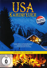 USA Kaminfeuer - Special Edition - DVD - mit Country Christmas Musik - *NEU*