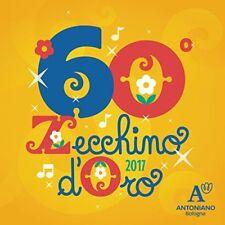 60° ZECCHINO D'ORO - CD+DVD SIGILLATO 2017