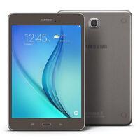 Samsung Galaxy Tab A 16GB, Wi-Fi, 8.0 inch - Smoky Titanium T350 Bundle Tested