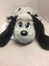 """Vintage 14""""Pound Puppy Gray with Black Ears/Spots 1985 by Tonka"""