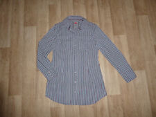 ESPRIT Stretch Long Bluse / Tunika Langarm Gestreift Gr.38 **w.NEU**