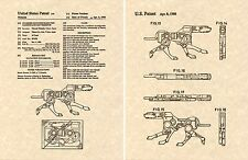 Transformers RAVAGE G1 US Patent Art Print READY TO FRAME Microcassette Micro
