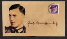 Von Stauffenberg Collector's Envelope with genuine 1941 Postage Stamp *1129OP