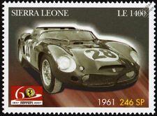1961 FERRARI 246 SP #28 Sports Motor Racing Car Stamp