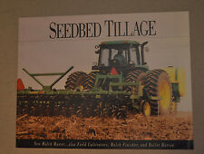 John Deere Brochure - Seedbed Tillage Mulch Master Finisher Field Cultivator1992