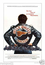 Movie Poster /'Hells Angels Forever' Poster/Motorcycle Poster