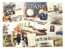 TITANIC REDUCED METAL SIGN CELEBRATING THE CENTENARY OF R.M.S. TITANIC 1912-2012