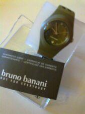 orologio Bruno Banani bracciale in caucciu'donna,data-resistente 3 atmosfere