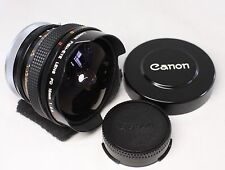 Excellent Canon FD 15mm F/2.8 Lens Fish-Eye S.S.C SSC MF Lens Made In Japan