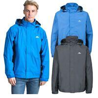 Trespass Mens Rain Jacket Waterproof & Windproof Hooded Coat XXS-XXXL