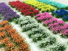 Miniature Model Self Adhesive 6mm Static Tufts - Dark Forest Flower Sampler