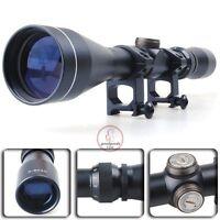 Tactical 3-9x40 Mil Dot Zoom Sniper Air Rifle Gun Airgun Scope Telescopic Sight