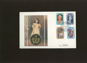 1990 90th Birthday Queen Mother Turks and Caicos Islands coin cover