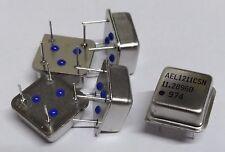 Confezione da 5 AEL CRYSTALS ael-1211csn 11.2896 MHz oscillatore a cristallo